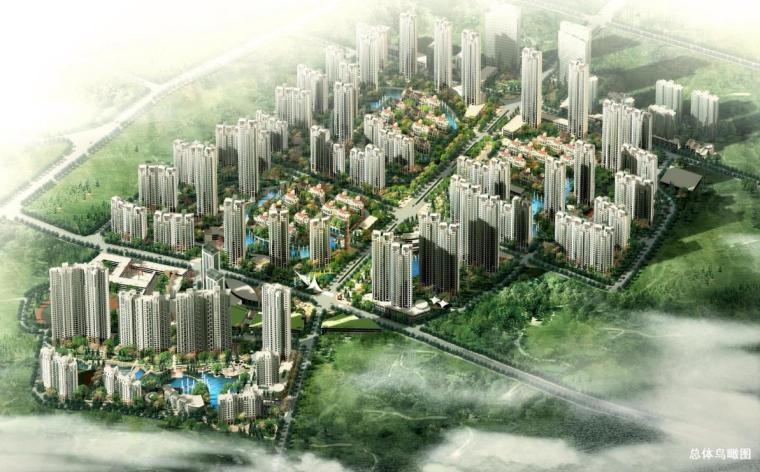 [江苏]高层现代风格简洁立面住宅建筑设计方案文本