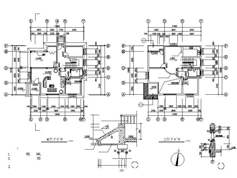 简单实用的新型农村住宅设计施工图