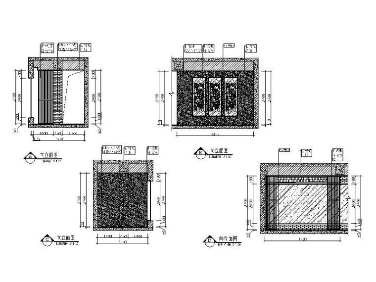 中式火锅店装修(含效果图、CAD施工图、3D模型带灯光材质)_5