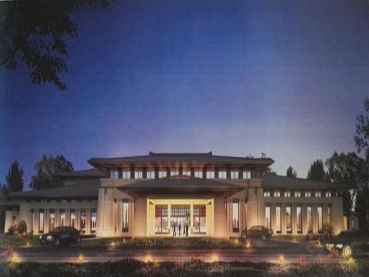 敦煌国际酒店幕墙工程2#楼脚手架方案