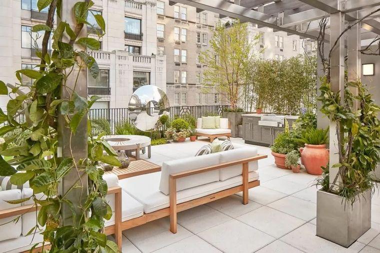 这才叫做顶级屋顶花园设计,贫穷限制了我的想象...