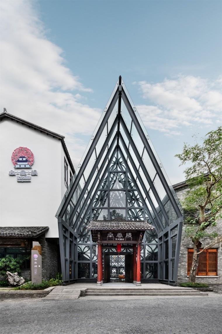 南香楼艺术酒店:传承+重塑建筑美学 | 贝森豪斯设计事务所
