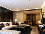 儒雅舒适客厅3D模型下载