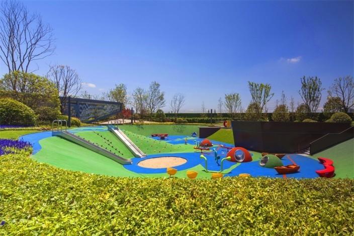 宁波旭辉上湖城章景观