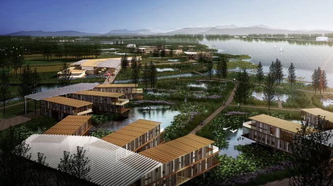 [河南]滨湖郊野生态避难型森林公园景观设计方案_6