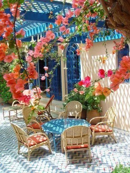 世界那么大,我却只想要个小院花开满园,自在从容……_16