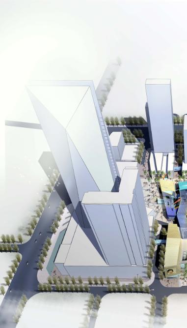 多套超高层现代风格办公楼建筑设计方案文本
