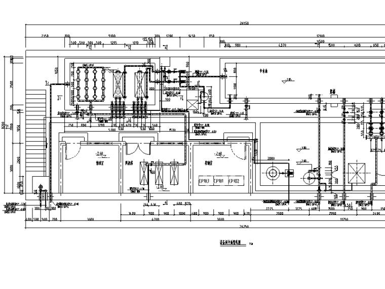 ic厌氧反应器施工图资料下载-奥林匹克公园网球中心MBR污水处理系统施工图