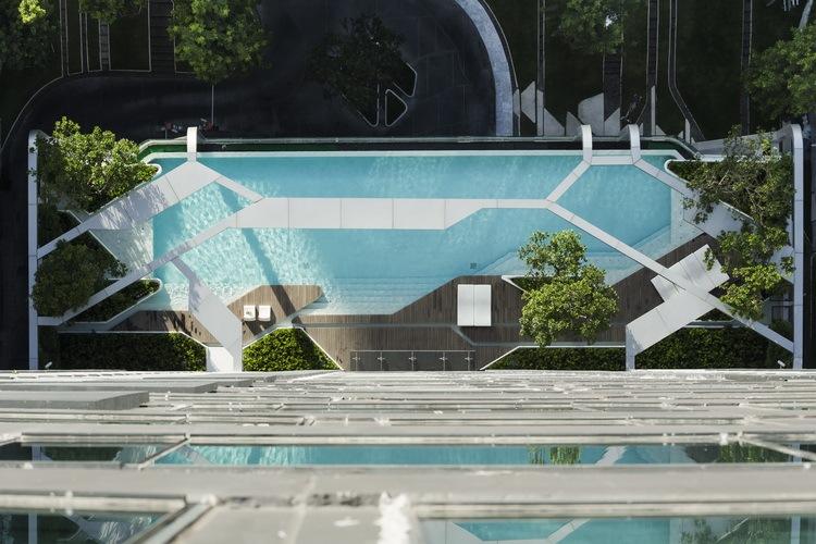 曼谷Pyne住宅景观