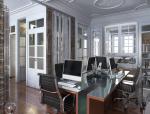 欧式办公室3D模型下载
