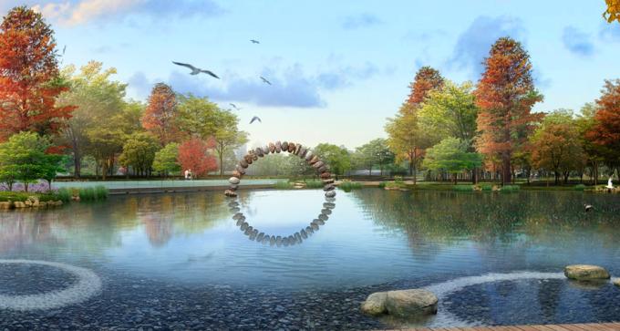 [湖北]海绵智慧科技新工艺生态滨海景观示范带设计方案(2017最新)