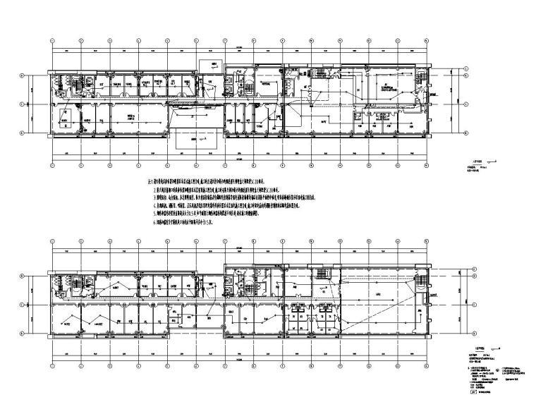 [安徽]某城市质监局建筑施工图设计图_6