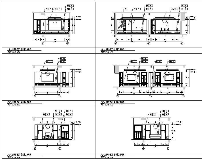 12600平方米酒店空间设计施工图(附效果图)_4