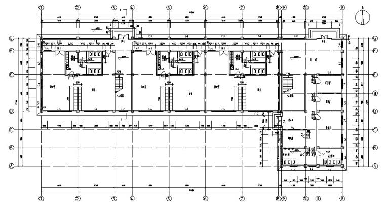 幼儿园结构毕业设计(含计算书、建筑结构图)_3