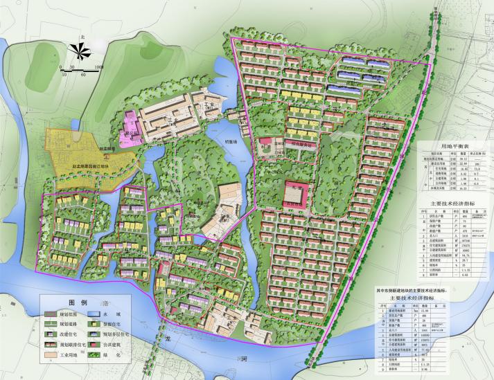 中心村规划图