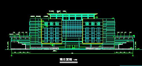 6层综合办公楼建筑施工图