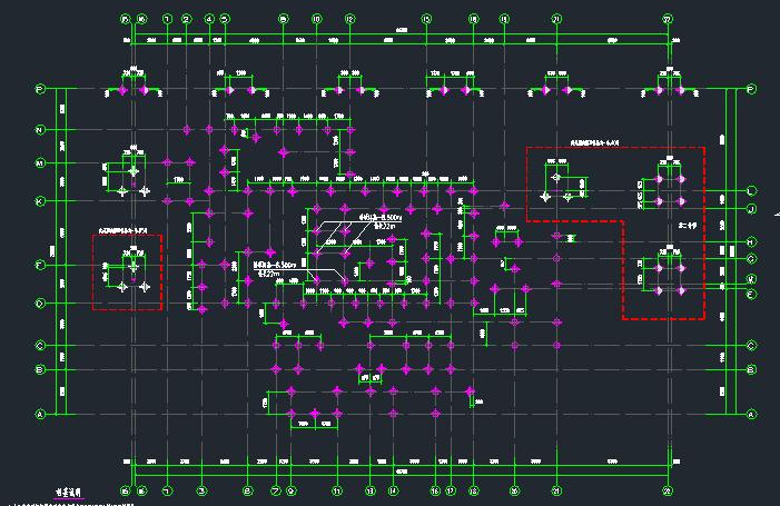 预应力混凝土管桩(静压)基础结构图