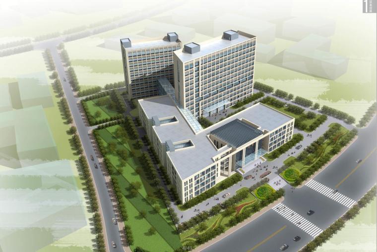 [四川]某中医医院改建项目规划方案设计