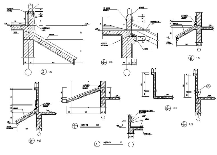 徽派三层民居建筑施工图