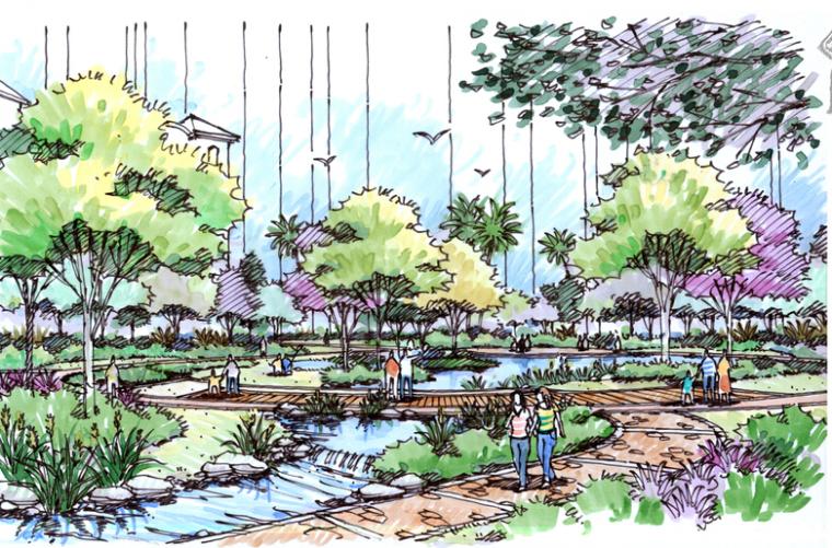 [广西]南宁龙光普罗旺斯城五期景观概念设计