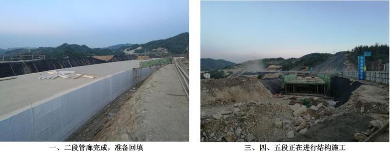 六盘水综合管廊PPP项目现场进展及质量安全汇报-现场进展