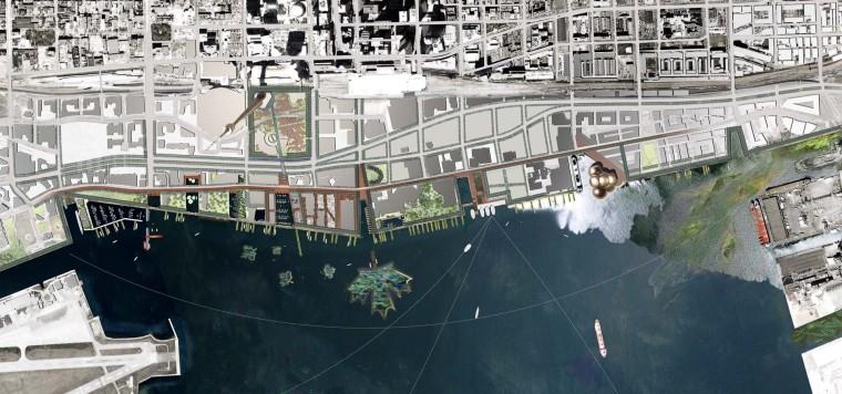 加拿大中央海滨波浪桥-21e6f847