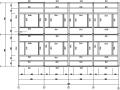 三层楼钢框架制造图(CAD,19张)
