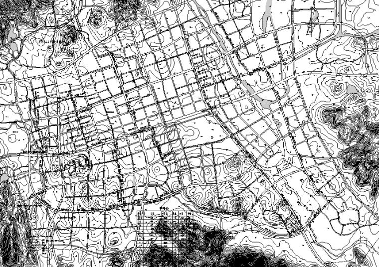 福建省漳州市城市排水工程设计(含设计说明,计算书,图纸)