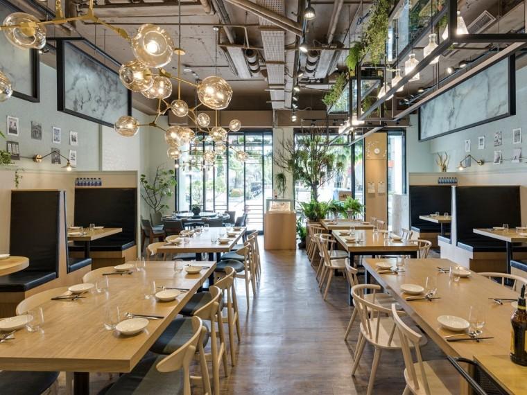 台湾清新自然的绿意主题餐厅