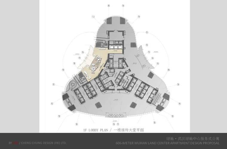 CCD--湖北绿地.武汉606绿地中心公寓概念陈述