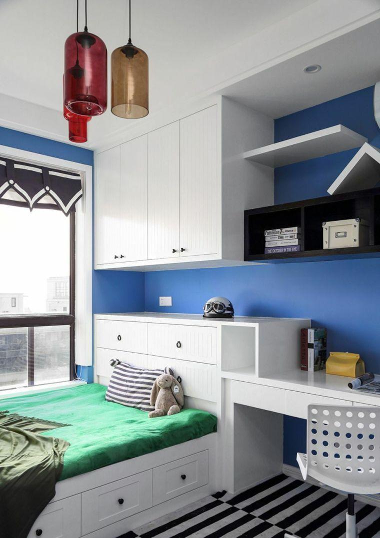 榻榻米床+柜子如何组合设计?35个案例告诉你..._25