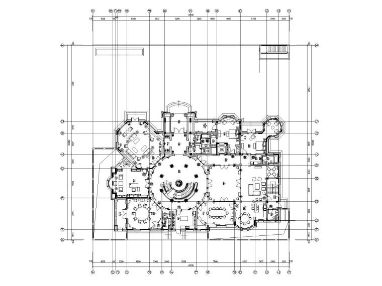 [上海]法式新古典高尔夫别墅样板间装饰施工图(附效果图)_2