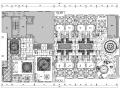 [广东]某混搭风格中餐厅施工图及效果图