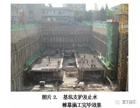 工程中几种常见的止水帷幕形式,未来降水极有可能被禁止,帷幕止_4
