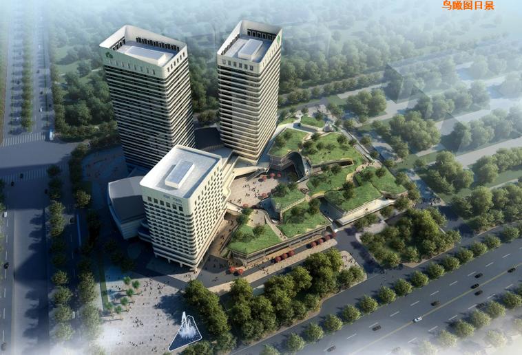 [江苏]绿地扬州运河纪项目商业建筑规划设计方案文本
