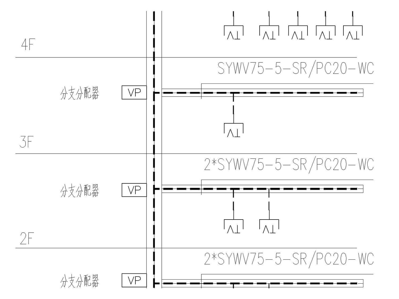 某医院电气强弱电施工图(包括护理呼应信号系统图)_5