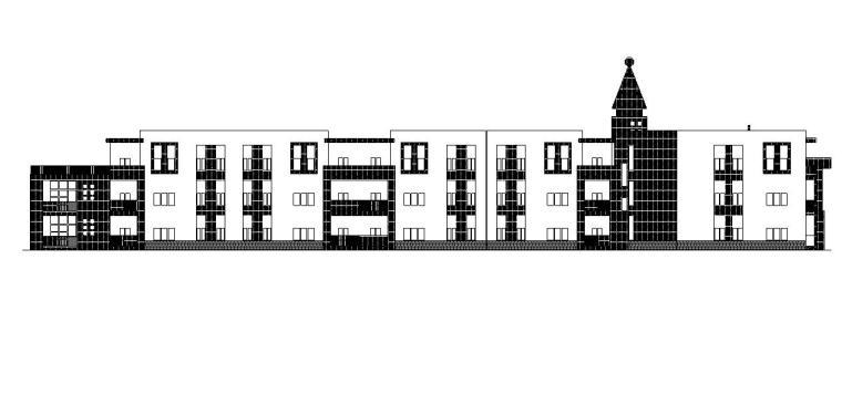 [宁夏]多层框架结构幼儿园建筑施工图(含全专业图纸)