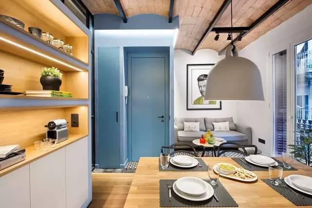 40m²一室户,完美的隐形设计
