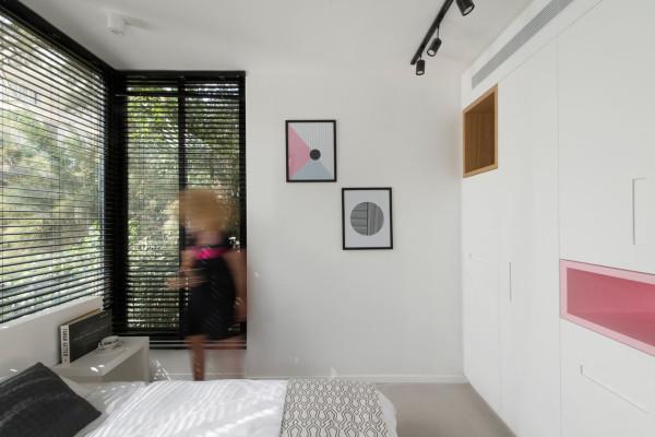特拉维夫105平米精致的公寓设计