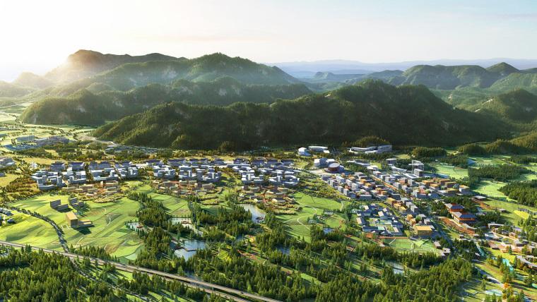 黄山谭家桥镇国际小镇规划-2