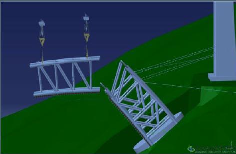安装工程bim策划书资料下载-某高速曲弦钢桁加劲连续梁桥BIM项目实施策划书