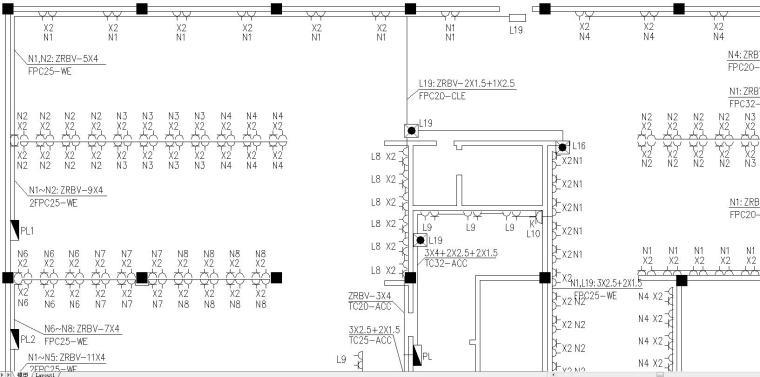 网吧电气设计施工图