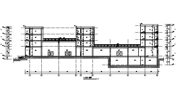 [广东]殡仪馆改扩建整体v整体比例图纸项目图纸图片