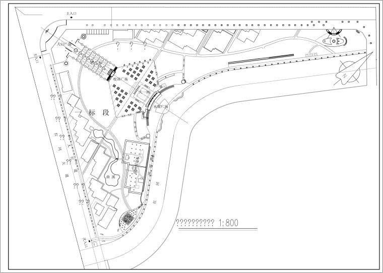 [重庆]某公园植物种植设计施工图