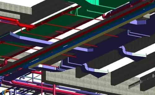 BIM技术在荔园饭店机电安装项目的全面运用