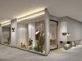 [店铺]5套北欧风格展厅店铺3D模型合集