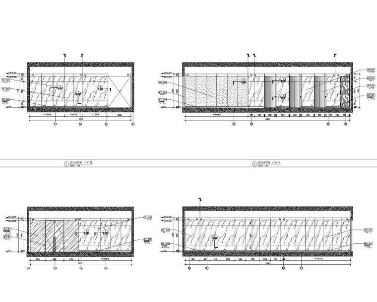 [深圳]华润大涌西塔T3公寓入户大堂+3套样板间施工图+物料表_5
