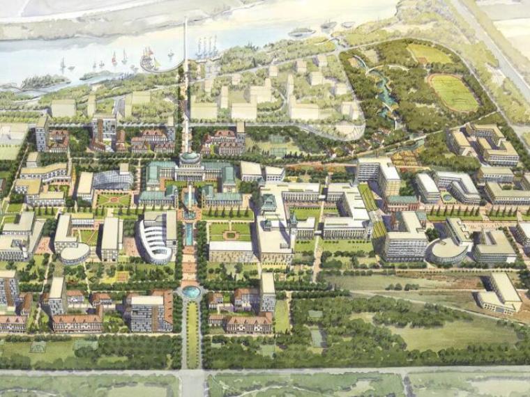 [方案][韩国]延世大学景观概念方案设计(ppt+160页)