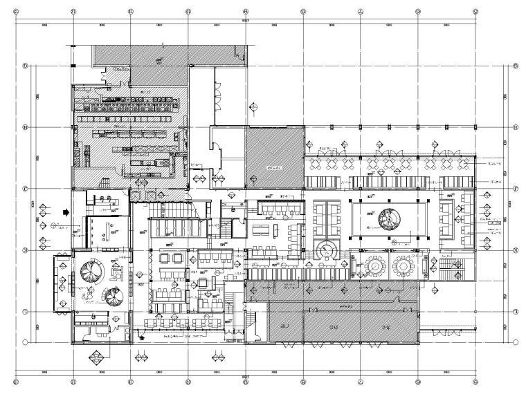 [浙江]中式风格——西溪天堂外婆家全套施工图及效果图