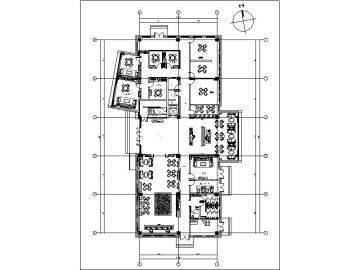 [江苏]某售楼处会所竣工图含水电设计施工图